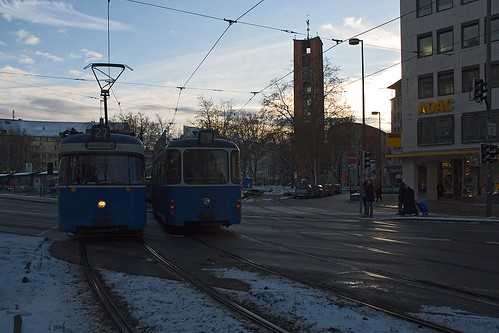 Das Sendlinger Tor ist einer von vier Begegnungspunkten der 3 P-Wagen-Kurse