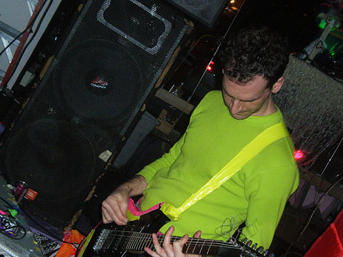Radio Shock at Showpaper Gallery, December 23, 2010