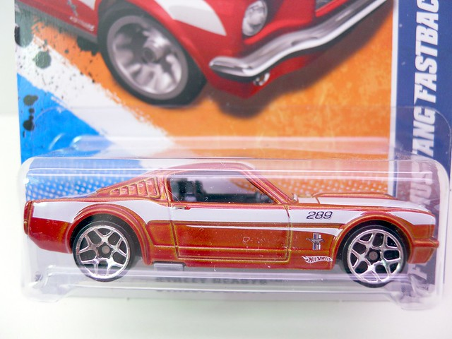 hot wheels ford mustang fastback copper (2)
