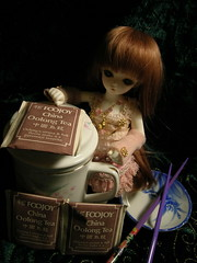 DSCN1335 (reduced earth) Tags: christmas doll tea bjd soom abjd ai freya balljointeddoll