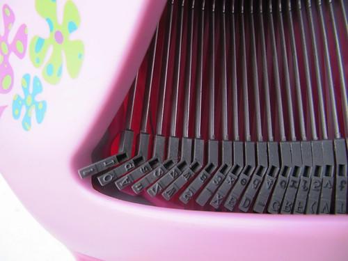 Barbie Schreibmaschine