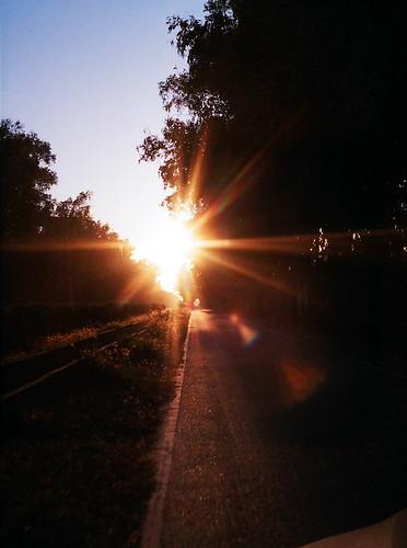 奔向夕陽的那一方