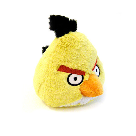 Yellow - Angry Bird Plush Toy 愤怒的小鸟毛绒玩偶