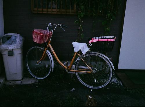 工廠阿罵的腳踏車