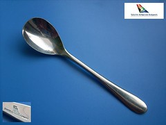 SOUTH AFRICAN 17 (diatr) Tags: inflight aviation air spoon collection airline meal airways bom lffel besteck saa flatware southafrican teaspoon