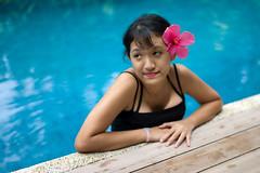 Bunga Raya (* Hazman Zie *) Tags: portrait 50mm holidays swimmingpool hibiscus summilux m9 summiluxm50mmf14asph leicam9