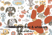 Max and Whiskers by Basic Grey for Moda Fabric