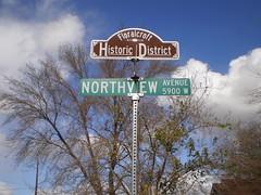 Floralcroft Street Sign