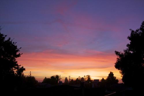 sunset-BerkeleytowardsBay