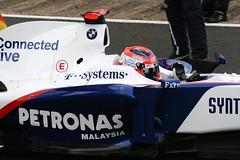 Robert Kubica, BMW Sauber. (Nick Stewart2) Tags: summer canon grid petronas bmw sauber santander robertkubica f109 britishgrandprixsilverstone21june09