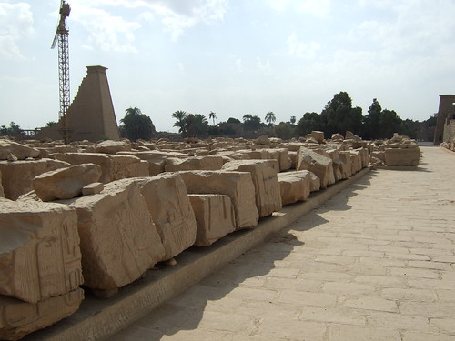 Excavated Stones Still To Be Sorted