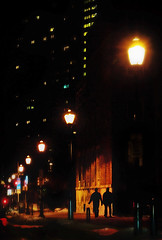 Vine St. (taryntella2) Tags: life city light shadow silhouette night availablelight repetition philadelphiapa thepinnaclehof tphofweek107 pinnacleavailablelight