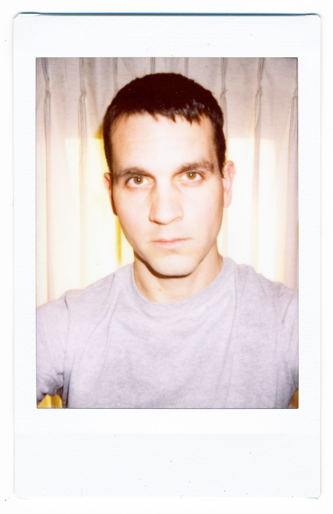 Self Portrait, Polaroid 300