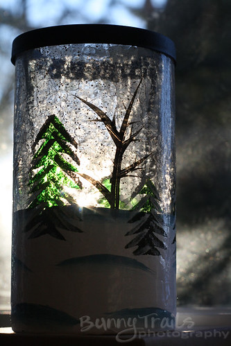 1 - tree candle holder