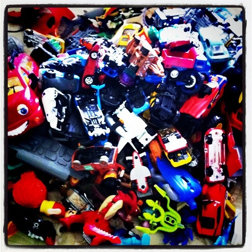 Project 365 1/365: Clutter Management