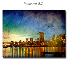 .. view across FalseCreek to Yaletown area of Vancouver ..Canada (ZedZap Photos) Tags: city travel bridge vacation holiday canada texture tourism vancouver landscape bc nightshot canadian vancouverisland yaletown falsecreek pacificnorthwest bluehour victoriabc nationalgeographic cambiestreet winterolympics oympics zedzap