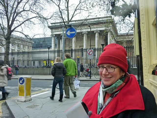 Agnes après visit a British Museum