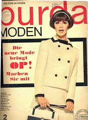 Burda-February 1966 (Fashion Covers Magazines (Second)) Tags: 1966 burda vintagefashion vintagemagazine 1960s burdamoden 1960sfashion