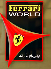 Ferrari World Abu Dhabi (Paolo Rosa) Tags: world park parco logo eau united uae ferrari emirates abudhabi arab otto roller theme abu dhabi coaster unitedarabemirates volante ottovolante ferrariworld divertimenti