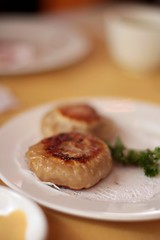 China Pavilion - pan fried beef and scallion pies