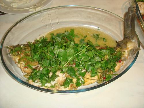 Thai Style Deep Fried Seabass