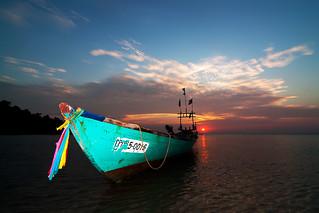 Sunset at Koh Tunsai