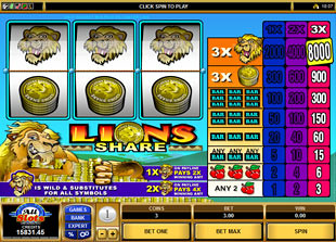 Lions Share slot game online review