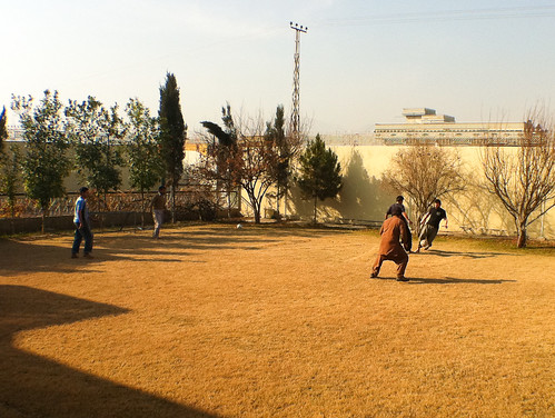 Football at the Taj