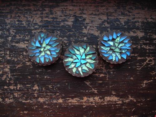Peacock Mandala Pins