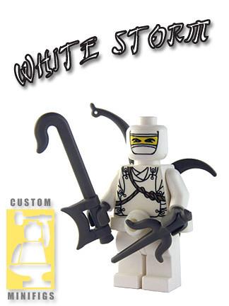 Custom minifig White Storm custom lego minifig
