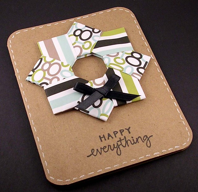 origami holiday cards, more ideas