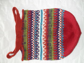 Ravelry Fair Isle Tote Pattern By Patons