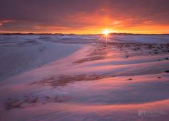 Winter Morning, Palouse (Chip Phillips) Tags: winter snow sunrise butte northwest farming hills sunburst agriculture inland rolling palouse steptoe sunsar