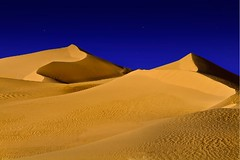 Dunes at night - Only in my place (A_Alfaleh  ) Tags: sky night stars desert dunes deserts saudia aljouf sakaka