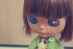 Dori - UCG Custom ♥ (Bruna Lacrout ☆) Tags: doll ducky blythe bangs custom dori cuthair rbl sardas urbancowgirl ucg takaratomy sonya230
