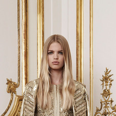 Givenchy F/W Couture 2010.3 (claire-olio) Tags: fashion gold hautecouture beading parisfashionweek givenchy detailshots