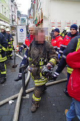 Großbrand Altstadt Bingen 07.01.11