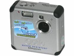Câmera Digital Pentax Optio 33 WR com resolução de 3.2 Megapixel