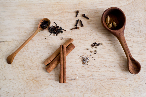 spices, for tea