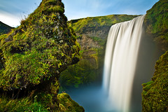 Skgafoss, One More Time (chris lazzery) Tags: longexposure waterfall iceland 5d skgafoss canonef1740mmf4l bw30nd
