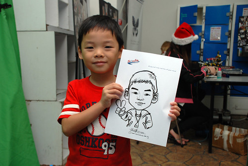 Caricature live sketching for Snow City - Day 7 - 13