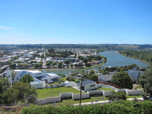 View of Wanganui from the Durie Hill elevator