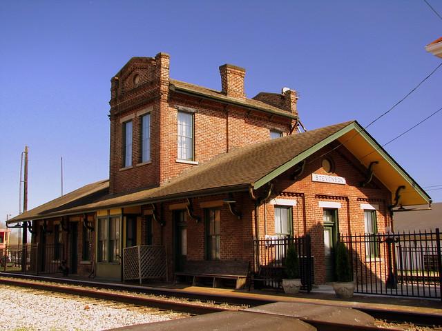 Stevenson, AL Train Depot (Version A)