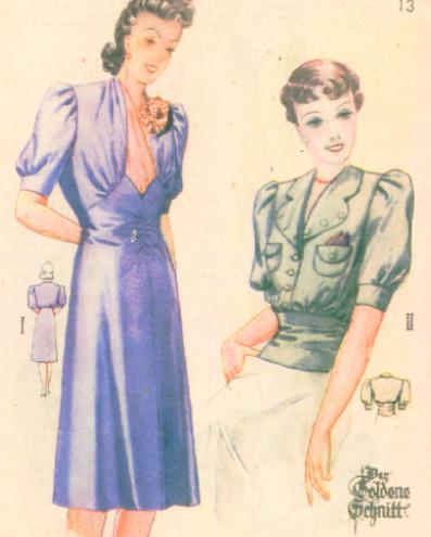 1940's blouse