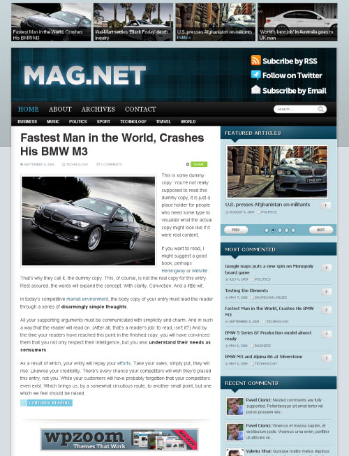 magnet-wordpress-theme