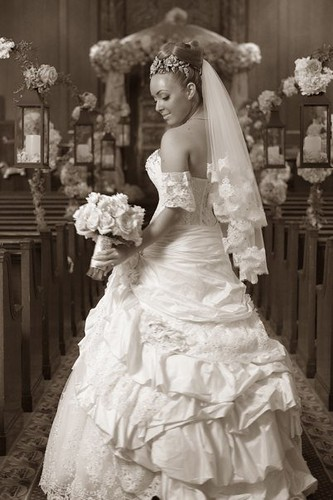 Bridal Styles real bride Michelle L