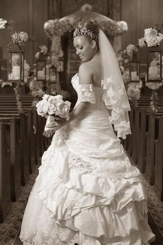 Bridal Styles real bride Michelle L
