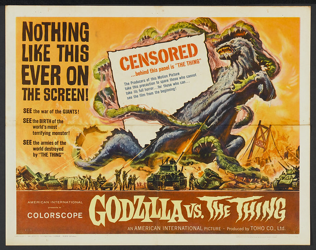 Godzilla vs. the Thing (American International, 1964) 2