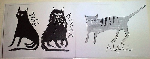 cat zine pages