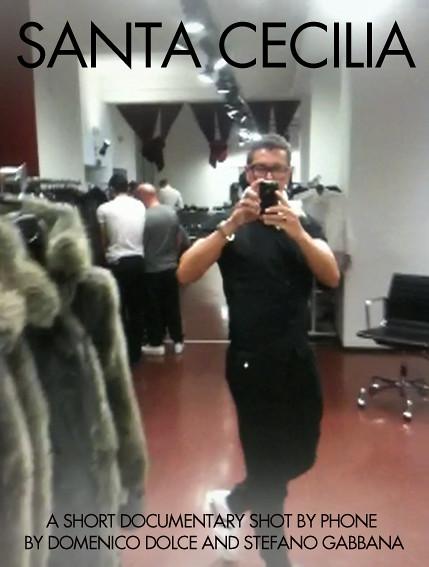 "Dolce&Gabbana ""Santa Cecilia"""
